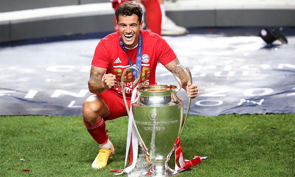 Sau niềm vui đoạt Champions League cùng Bayern ăn ba, Coutinho sẽ đối diện với thực tế khó khăn, khi phải trở lại Barca và tương lai bất định. Ảnh: AFP