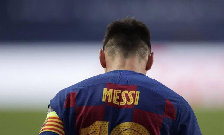 Messi không còn kiên nhẫn trước sự quản lý yếu kém kéo dài nhiều năm liền tại Barca. Ảnh: AP.