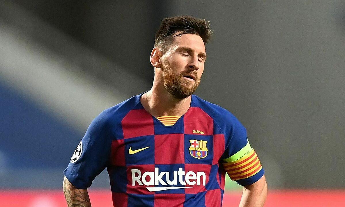 Messi dùng biện pháp mạnh để gây sức ép lên Bartomeu, đòi rời Barca. Ảnh: Reuters