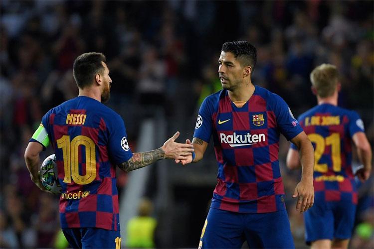 Các CLB lớn sẵn sàng đón Messi và Suarez, hai cầu thủ ghi bàn hàng đầu của Barca nhiều mùa giải qua. Ảnh: Reuters.