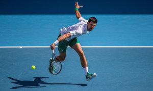 Novak Djokovic 2-0 Jan-Lennard Struff