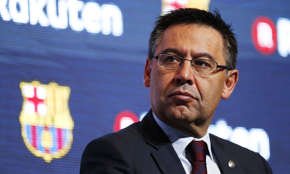 Bartomeu luôn giữ lập trường muốn Messi ở lại Barca. Ảnh: Reuters.