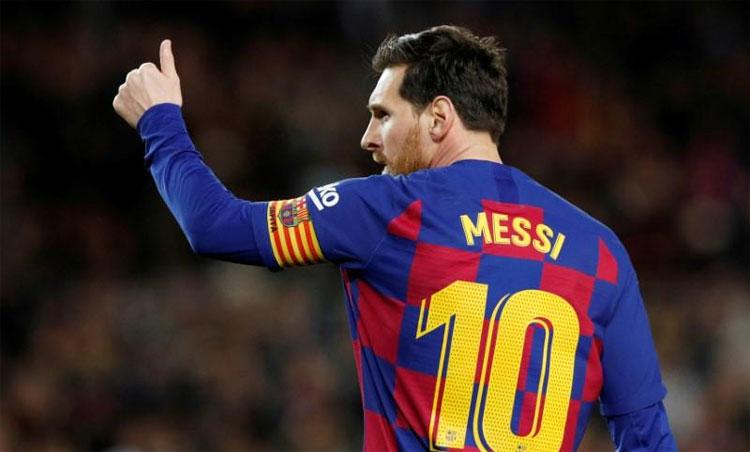 Lionel Messi đang giữ kỷ lục ghi 634 bàn cho Barca và 444 bàn tại La Liga. Ảnh: Reuters.