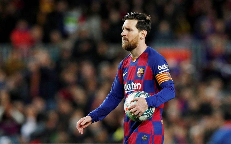 Messi liên tục gây sức ép như từ chối xét nghiệm Covid-19, bỏ tập để được rời Barca. Ảnh: Reuters.