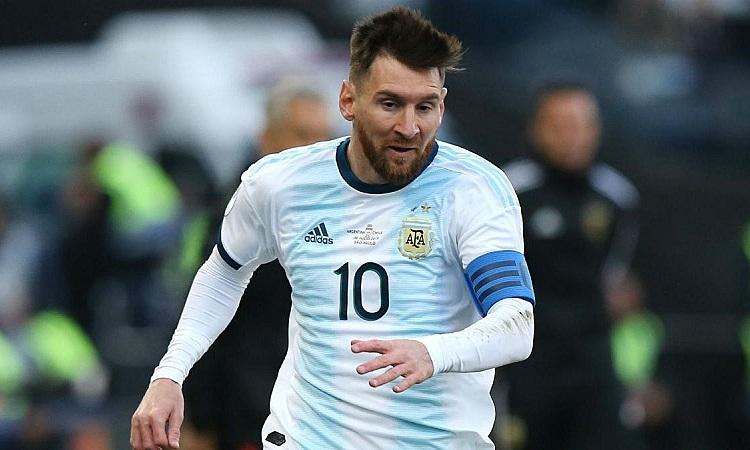 Messi từng bày tỏ mong muốn trở về Argentina thi đấu vào cuối sự nghiệp. Ảnh: AS.