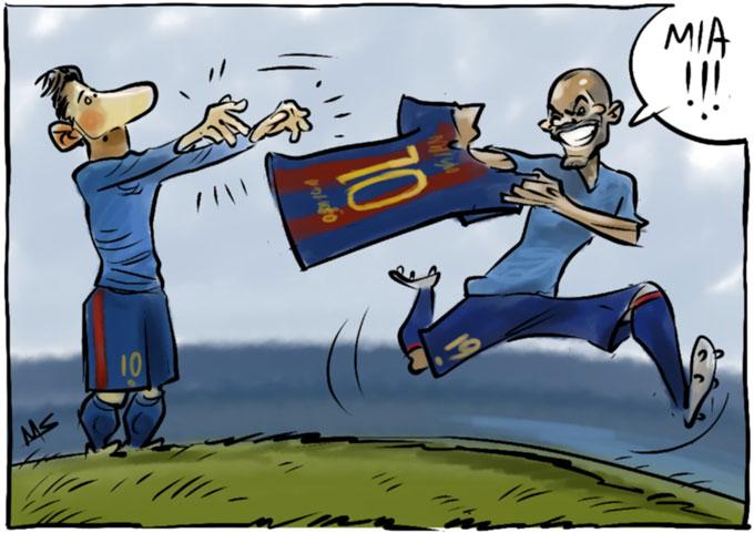 Khi Messi rời Barca, áo số 10 có thể được trao cho cầu thủ khác.