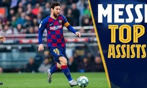Những pha kiến tạo đẳng cấp của Messi