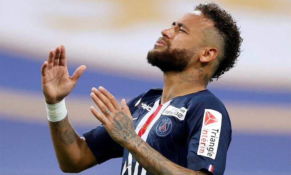 Neymar đá 27 trận và ghi 19 bàn trên mọi giải đấu cùng PSG mùa trước. Anh được xem là cảm hứng chủ đạo giúp PSG lần đầu tiên vào tới chung kết Champions League. Ảnh: Reuters