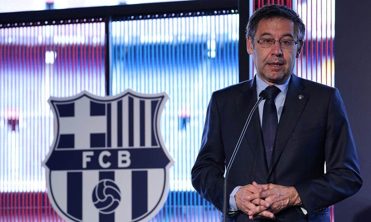 Bartomeu sẽ kết thúc nhiệm kỳ Chủ tịch Barca vào hè 2021. Ảnh: Reuters