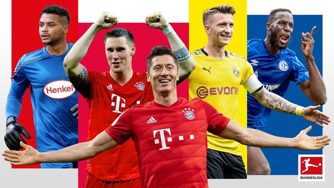 Bundesliga mùa giải 2020-2021 sẽ khởi tranh từ ngày 18/9. Next Media dự kiến phát sóng và phân phối bản quyền Bundesliga trên các kênh truyền hình miễn phí phủ sóng toàn quốc (kênh VTC3 - On Sports). Ảnh: DFL