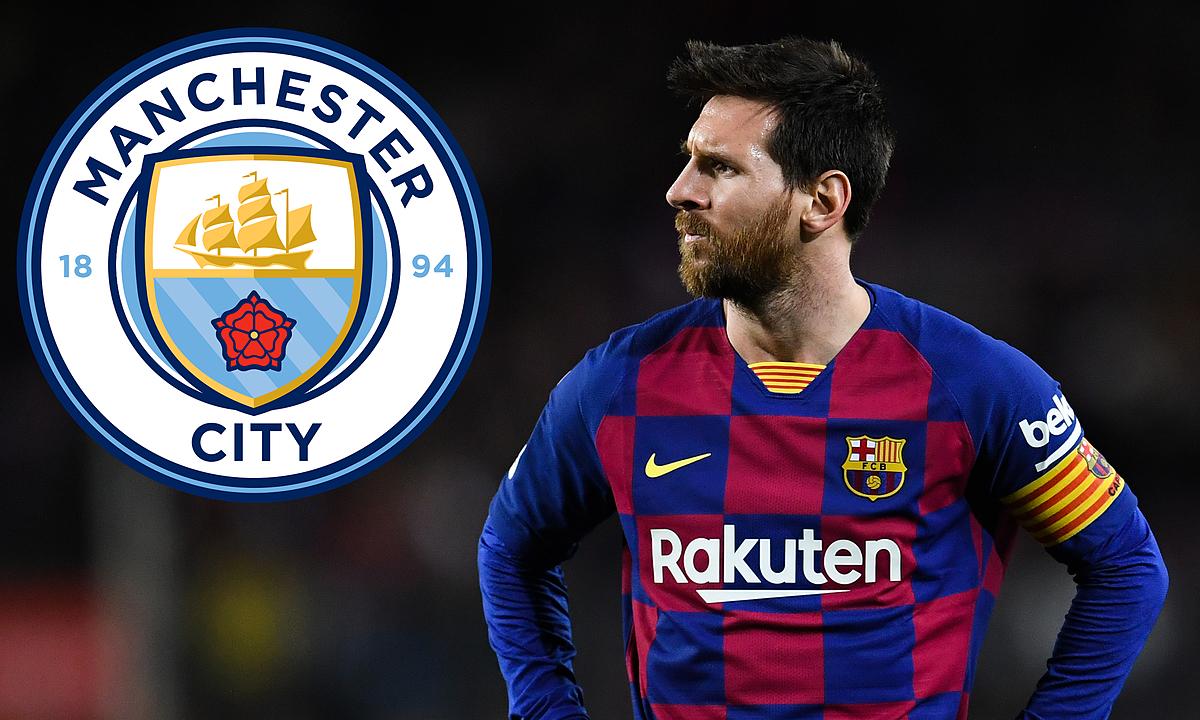 Messi vẫn có thể tự do sang Man City trong năm 2021. Ảnh: Goal