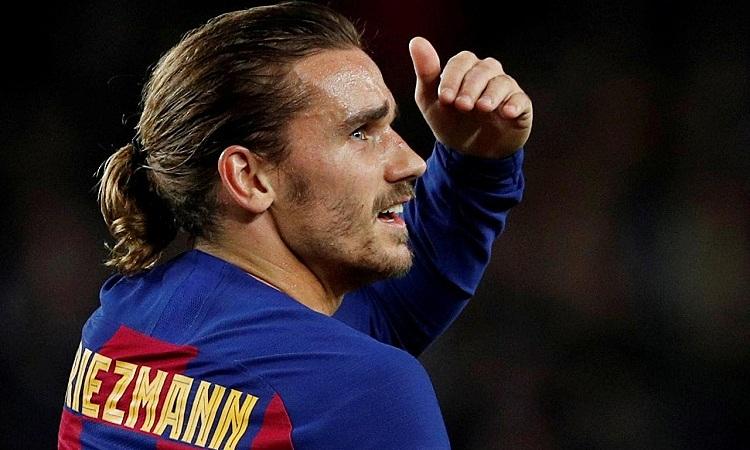 Tương lai Griezmann có thể phụ thuộc vào quyết định ở lại Barca của Messi. Ảnh: Reuters.