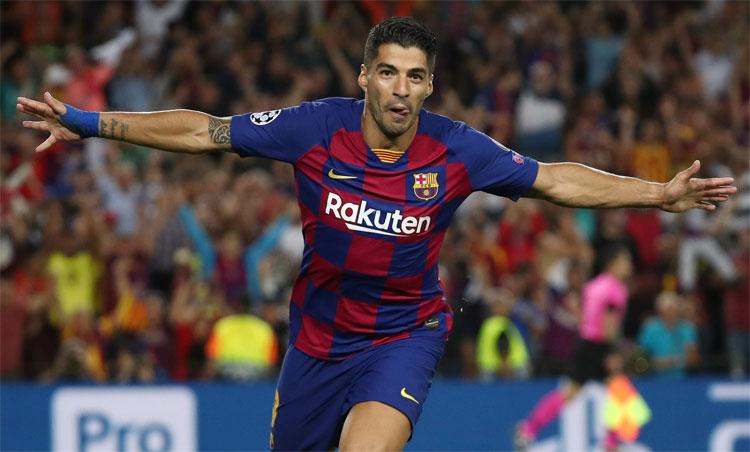 Với 21 bàn mùa 2019-2020, Suarez vẫn là một trong những chân sút hàng đầu thế giới. Ảnh: Reuters.