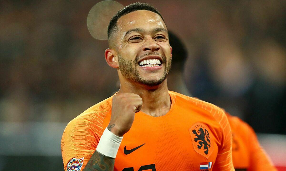 Depay ghi 19 bàn trong 54 trận cho đội tuyển Hà Lan. Ảnh: Reuters
