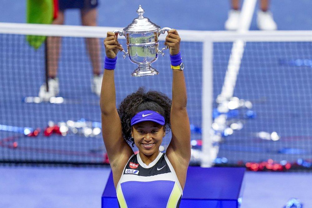 Osaka giành Grand Slam thứ ba trong hai năm qua. Ảnh: AP.