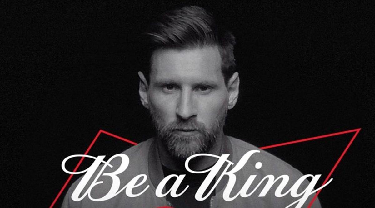 Bản hợp đồng của Messi với hãng bi Mỹ có giá trị trong ba năm.
