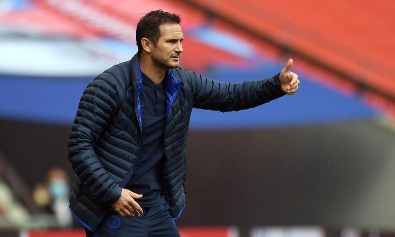 Lampard chịu nhiều áp lực về thành tích, sau khi Chelsea chi 252 triệu USD để mang về sáu tân binh trong hè 2020. Ảnh: Reuters.