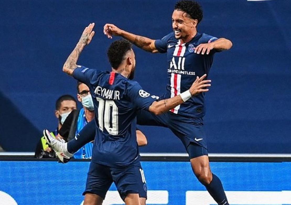 Những người Brazil như Marquinhos và Neymar đang đứng trước cơ hội lớn để giúp PSG hoá rồng nếu thắng trận chung kết Champions League hôm nay. Ảnh: PSG