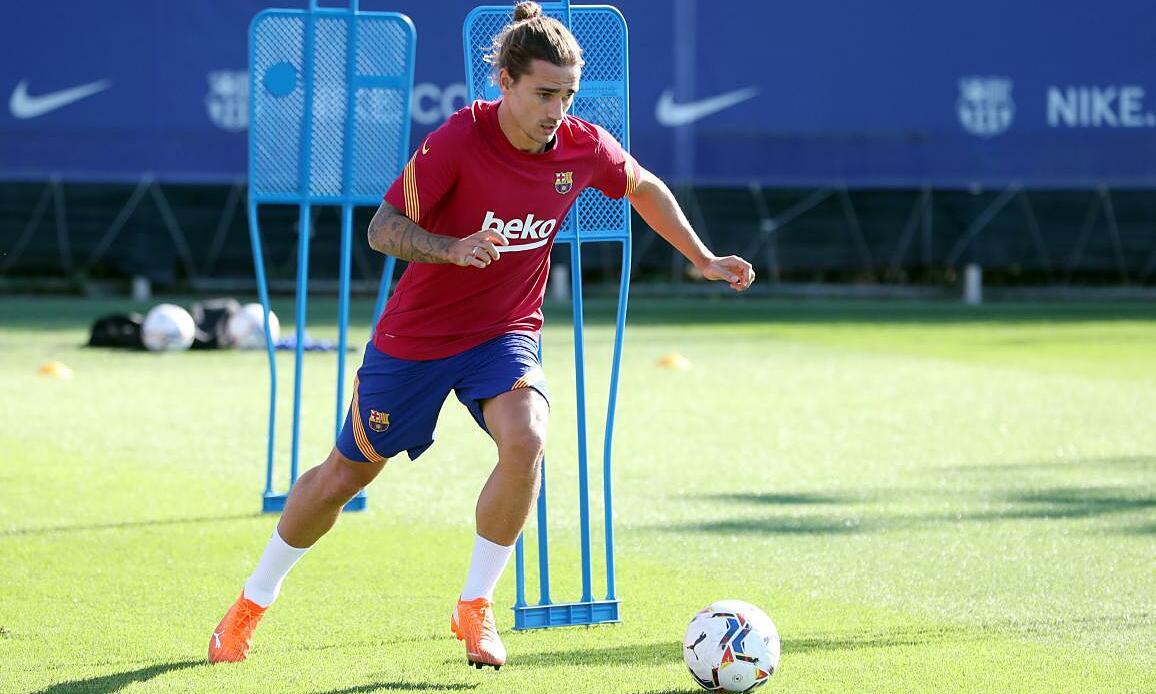 Griezman vẫn còn hợp đồng với Barca đến năm 2024. Ảnh: FCB