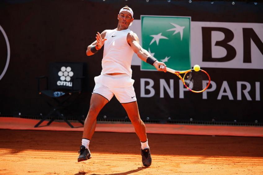 Nadal đang chia sẻ kỷ lục giành 35 Masters 1000 với Novak Djokovic. Ảnh: Tennis World.