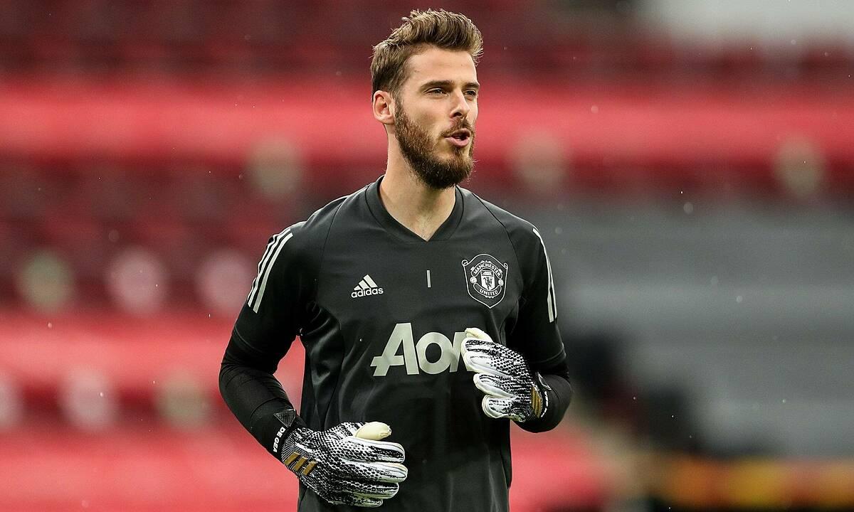De Gea tập luyện chuẩn bị cho mùa giải mới của Man Utd. Ảnh: Reuters