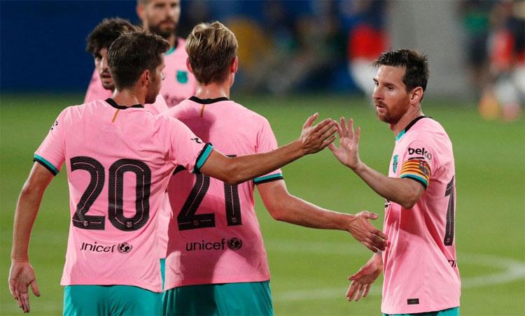 Barca đang dần định hình sơ đồ mới thay cho 4-3-3.