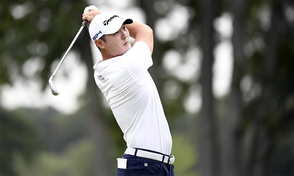 Danny Lee dừng cuộc chơi ngay sau vòng ba, vì chấn thương. Ảnh: Golf Digest.