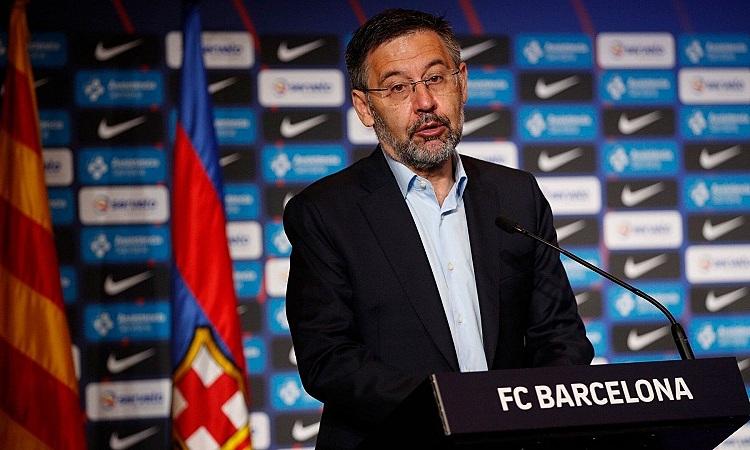Bartomeu cho rằng giữ Messi ở lại Barca là thành công của ông và các cộng sự. Ảnh: EFE.