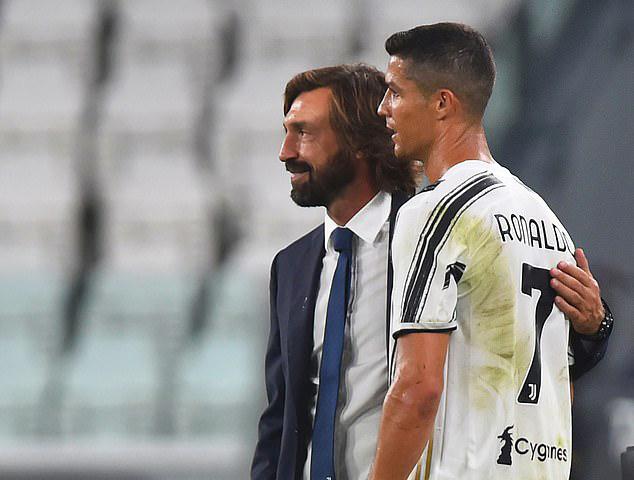 Tân HLV Pirlo hài lòng với ba điểm trọn vẹn trận ra quân. Ảnh: Reuters.