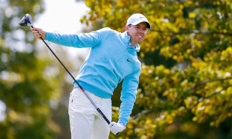 Rory McIlroy ghi double bogey ở hố một vòng cuối US Open hôm 20/9. Ảnh: USGA