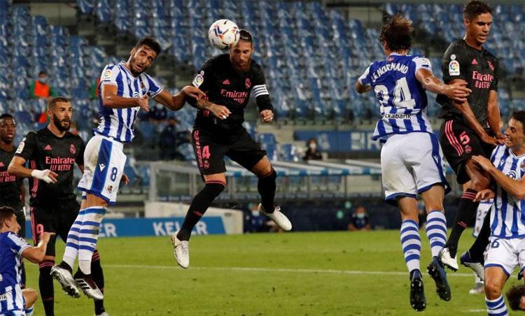 Ramos và Benzema tiếp tục đóng vai trò trụ cột cho Real. Ảnh: EFE.