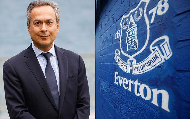 Moshiri khao khát sở hữu một CLB Ngoại hạng Anh và ông đang muốn đưa Everton vào nhóm đại gia. Ảnh: Telegraph