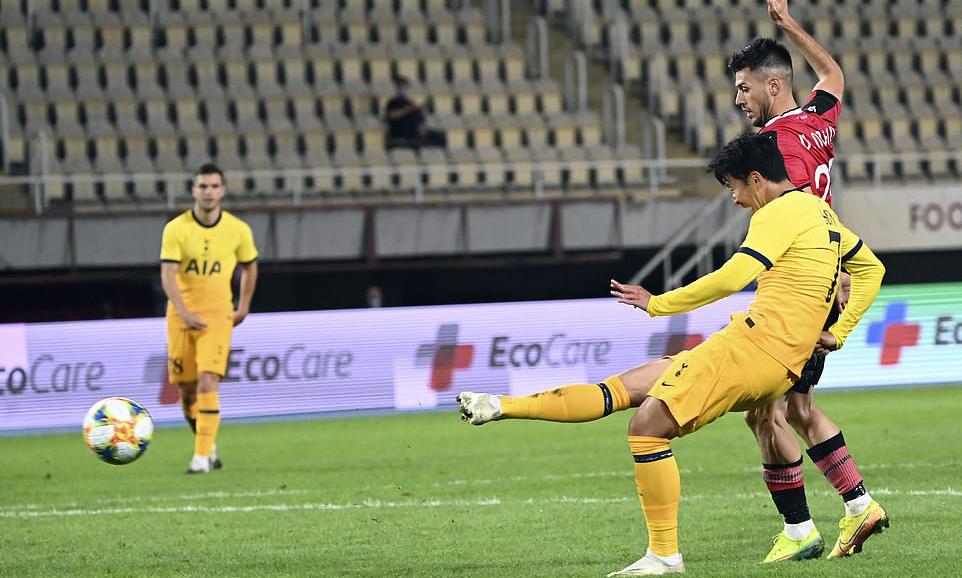 Son Heung-min ghi năm bàn và có hai kiến tạo trong hai trận gần nhất. Ảnh: EPA.