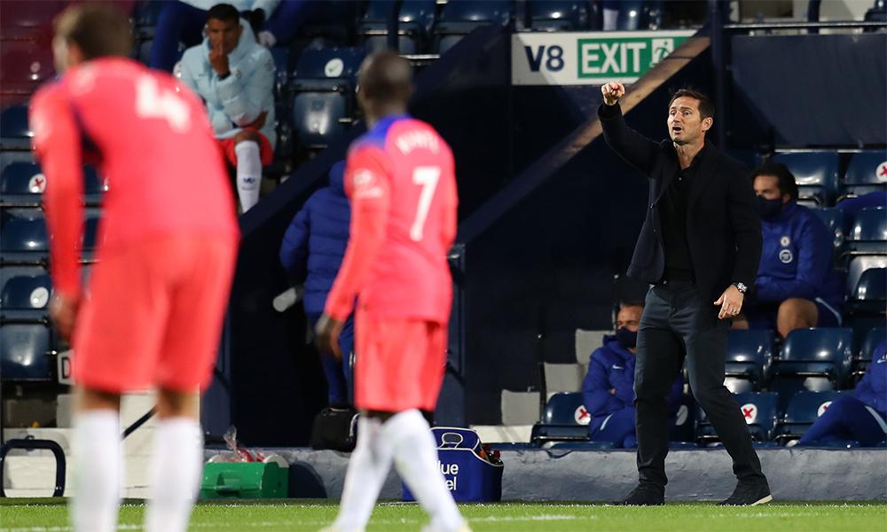Lampard và Chelsea mới kiếm được bốn điểm qua ba trận đầu Ngoại hạng Anh mùa này. Ảnh: CFC