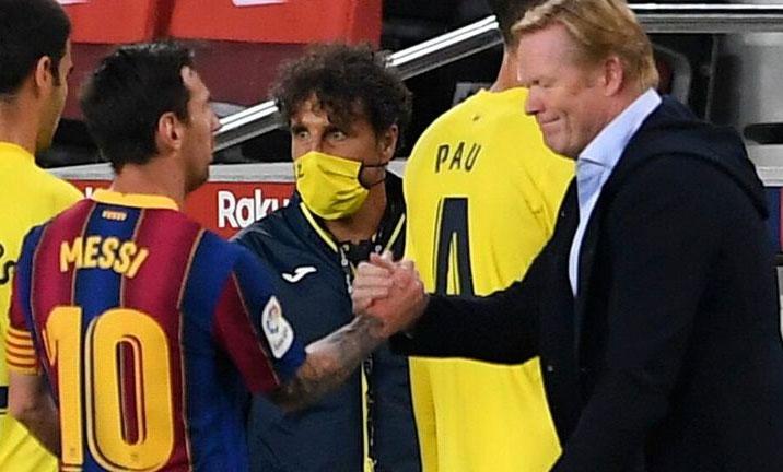 Koeman khởi đầu thuận lợi với Barca. Ảnh: Reuters.