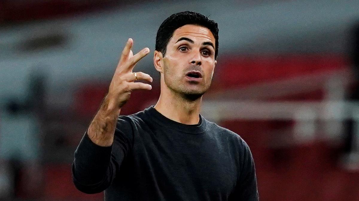 Arteta hài lòng với những gì học trò thể hiện trước Liverpool. Ảnh: Reuters.