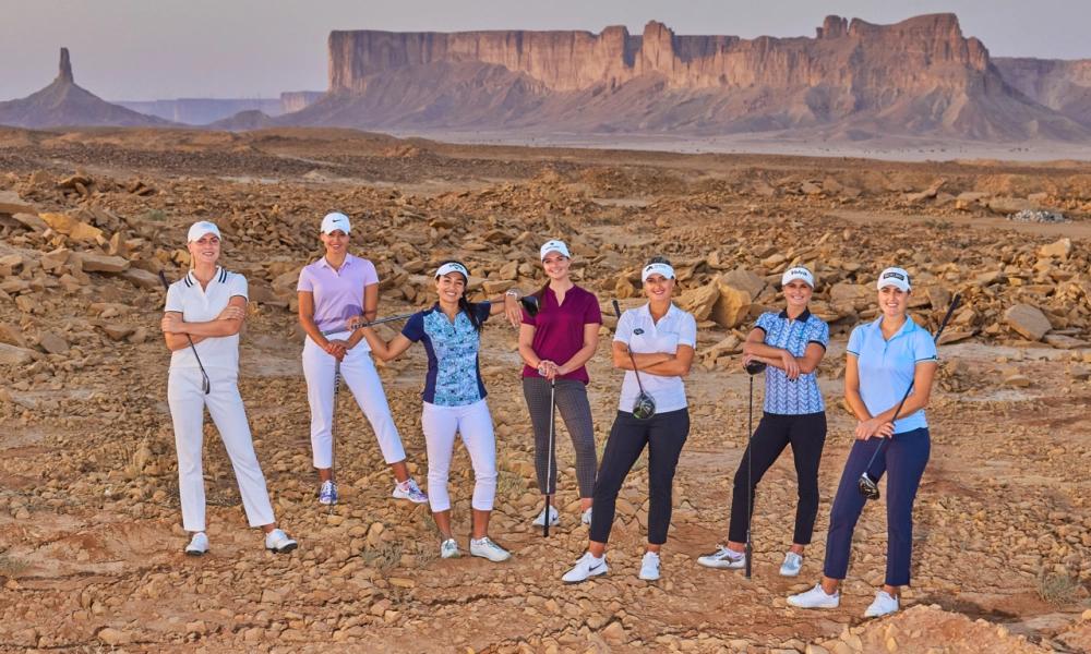 Nhiều ngôi sao của làng golf nữ sẽ góp mặt tại Saudi Ladies International tháng 11 tới. Ảnh: LET
