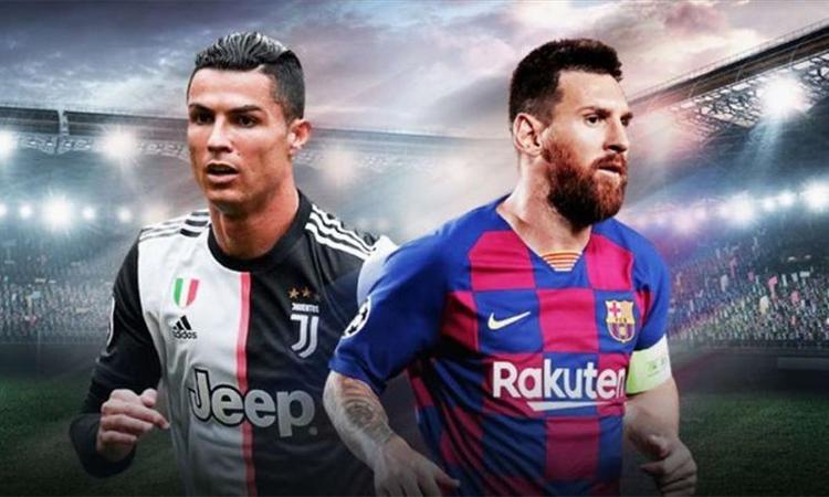 Messi (trái) có giá trị marketing cao hơn Ronaldo năm 2020, theo SportsPro.
