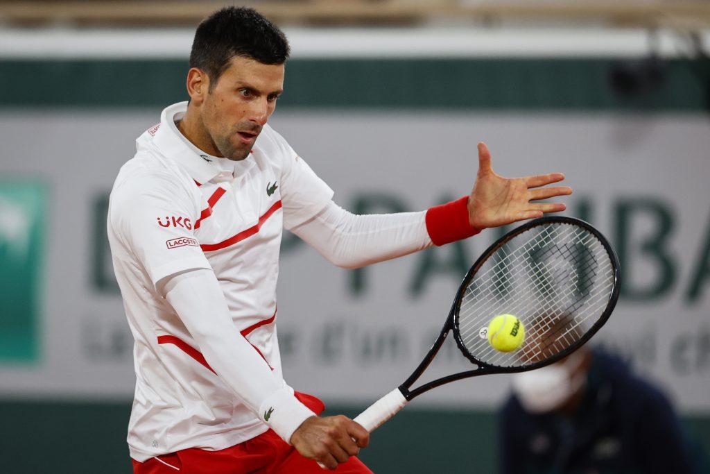 Djokovic giành tới 9 trong số 11 điểm break point ở vòng một Roland Garros. Ảnh: AFP.