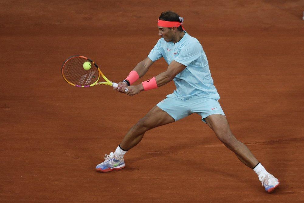 Nadal mới thua hai trận trong lịch sử tham dự Roland Garros. Ảnh: AP.