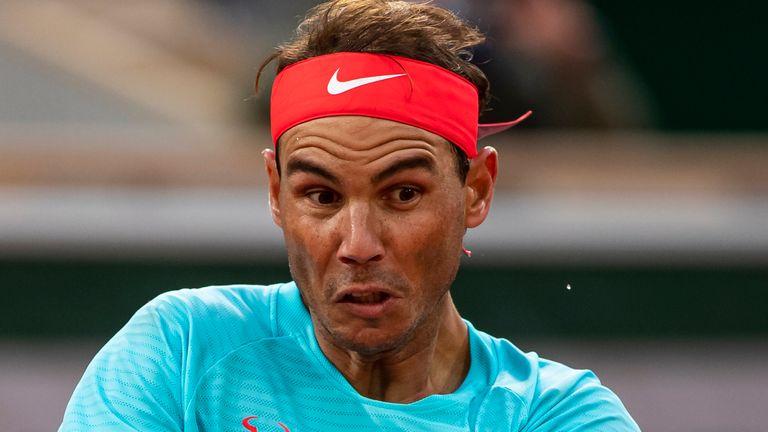 Nadal thắng trận thứ 95 tại Roland Garros. Ảnh: Sky.