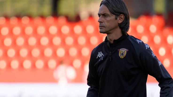 Inzaghi cùng Benevento thua Inter ngay trận thứ hai, nhưng đã có ba điểm mùa này, nhờ trận ra quân thắng 3-2 trên sân Sampdoria. Ảnh: ANSA.