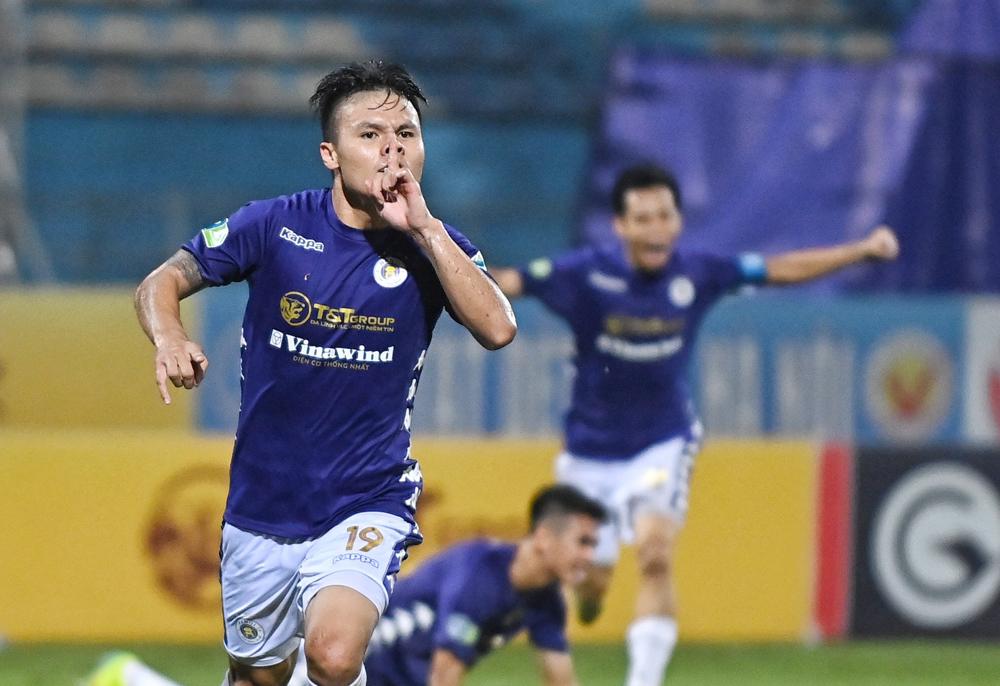 Hà Nội - Thanh Hoá: Quang Hải tái xuất - VnExpress Thể thao