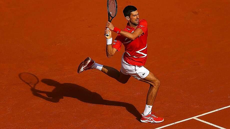 Djokovic thắng 36 trong 38 điểm giao bóng trong trận. Ảnh: ATP.