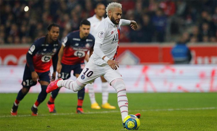 Neymar đã ghi 72 bàn trong 88 trận chơi cho PSG. Ảnh: Reuters.