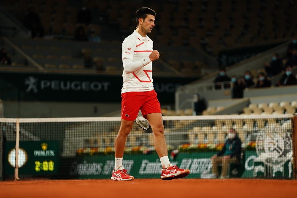 Djokovic lần thứ 10 góp mặt ở bán kết Roland Garros. Ảnh: RG.