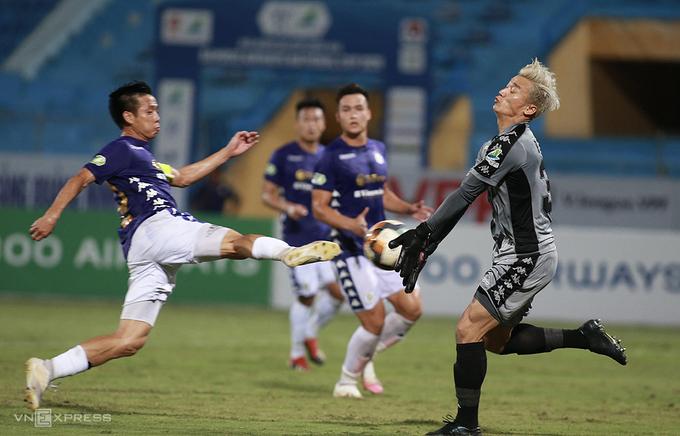 Hà Nội vừa đánh bại TP HCM ở Cup Quốc gia.