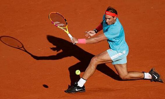 Nadal toàn thắng 13 trận bán kết ở Roland Garros. Ảnh: Reuters