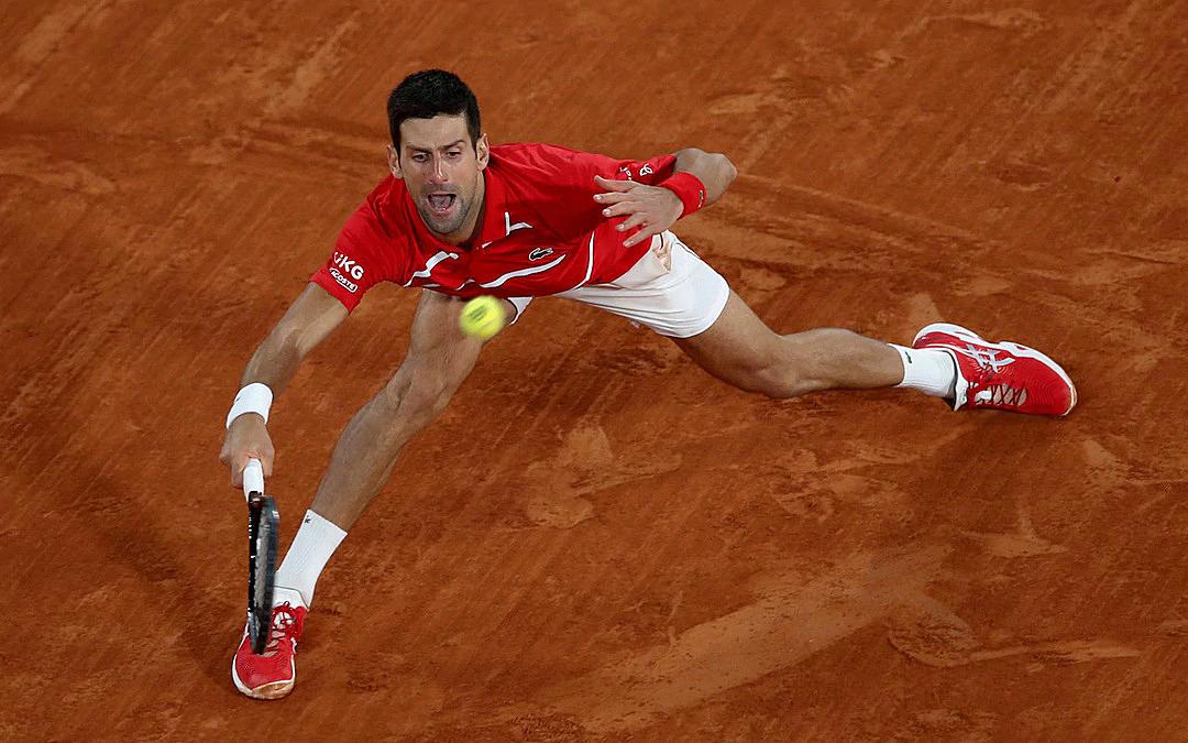 Djokovic có 56 điểm winner và mắc 50 lỗi tự đánh hỏng. Ảnh: AP.