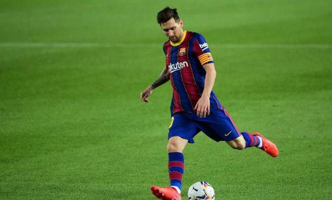 Messi đang giữ kỷ lục ghi bàn ở cả Barca và tuyển Argentina. Ảnh: Reuters.